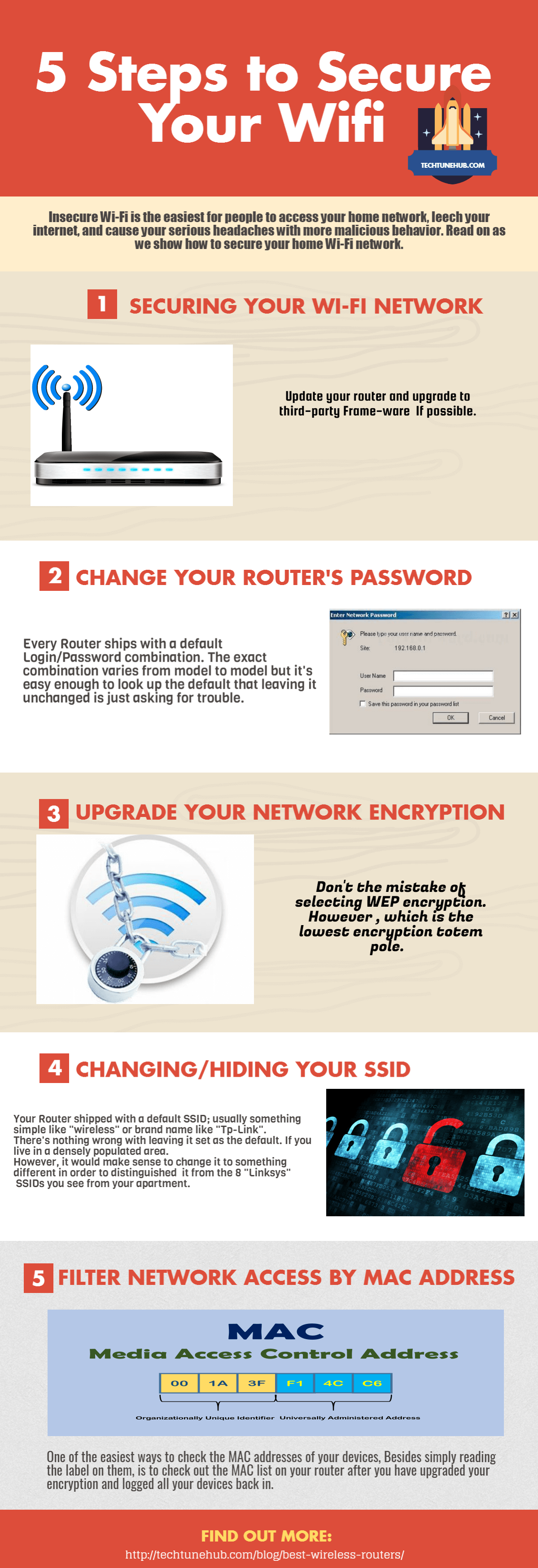 5 steps to secure your wifi network